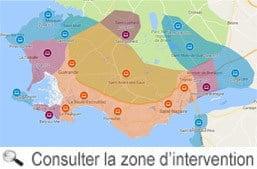 Villes de Loire-Atlantique où un technicien informatique intervient à domicile